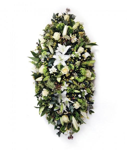 casket white