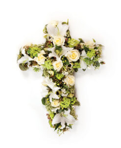 cross white