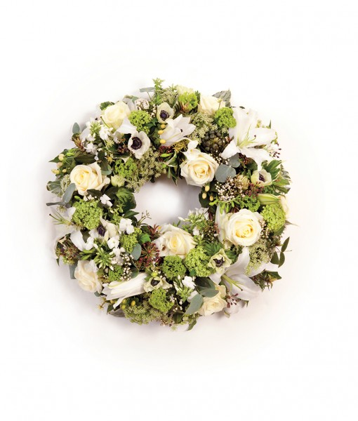 wreath white