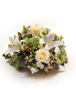 posy white side
