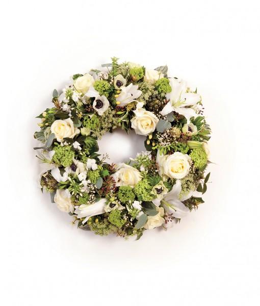 wreath white