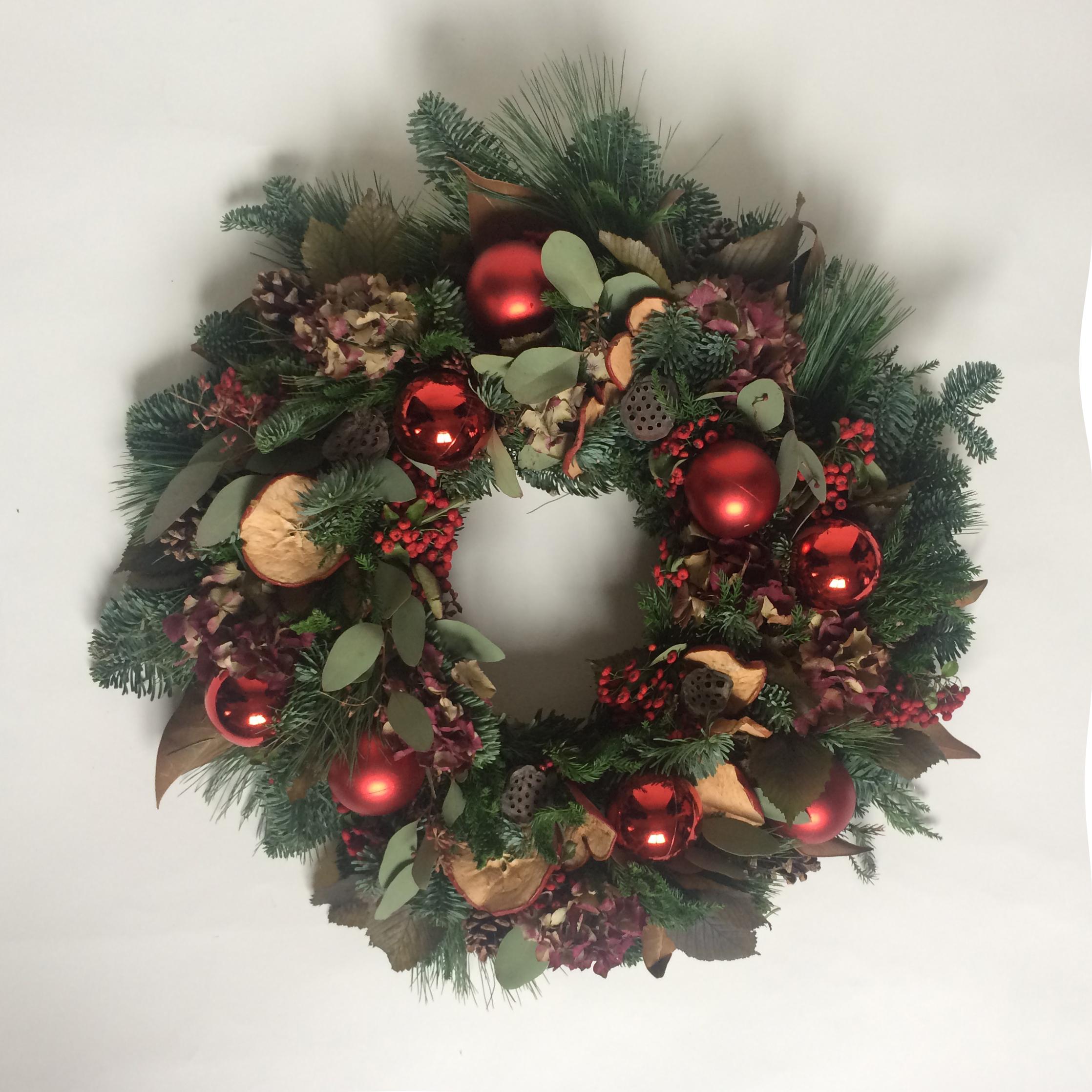 Christmas Wreaths.Christmas Wreaths