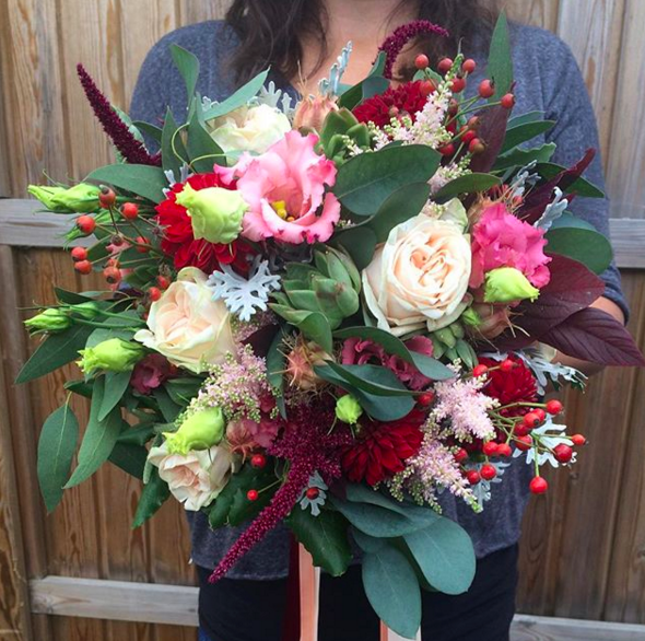 Winter Wedding Flowers Uk: Winter Wedding Flowers, Do You Play It Cool Or Warm And